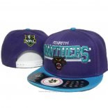 NRL Snapback Cap Penrith Panthers Purple