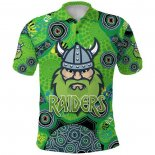 Polo Canberra Raiders Rugby Jersey 2021 Indigenous