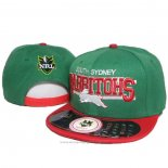 NRL Snapback Cap South Sydney Rabbitohs Green Red