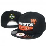 NRL Snapback Cap Wests Tigers Black