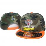 NRL Snapback Cap Wests Tigers Camuflaje Orange