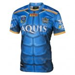 Gold Coast Titans Rugby Jersey 9s 2017 Blue