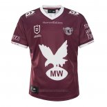 Manly Warringah Sea Eagles Rugby Jersey 2021 Home