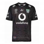 New Zealand Warriors Rugby Jersey 2021 Black