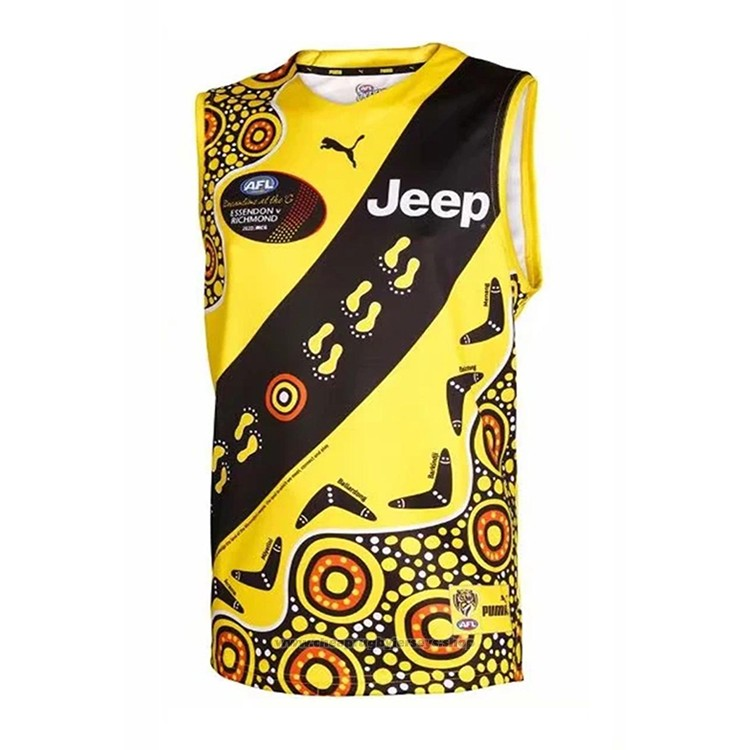 Richmond Tigers AFL Guernsey 2020-2021 Indigenous
