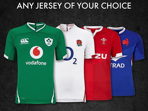 Cheap 6 Nations Rugby Jersey Online