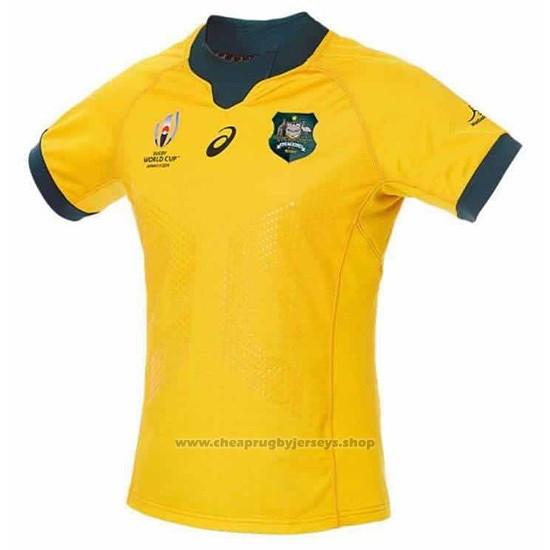 Australia Rugby Jersey RWC2019 Home