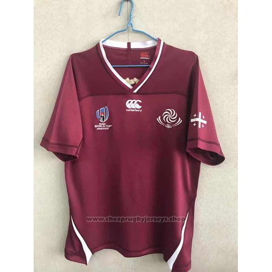 Georgia Rugby Jersey RWC 2019 Brown
