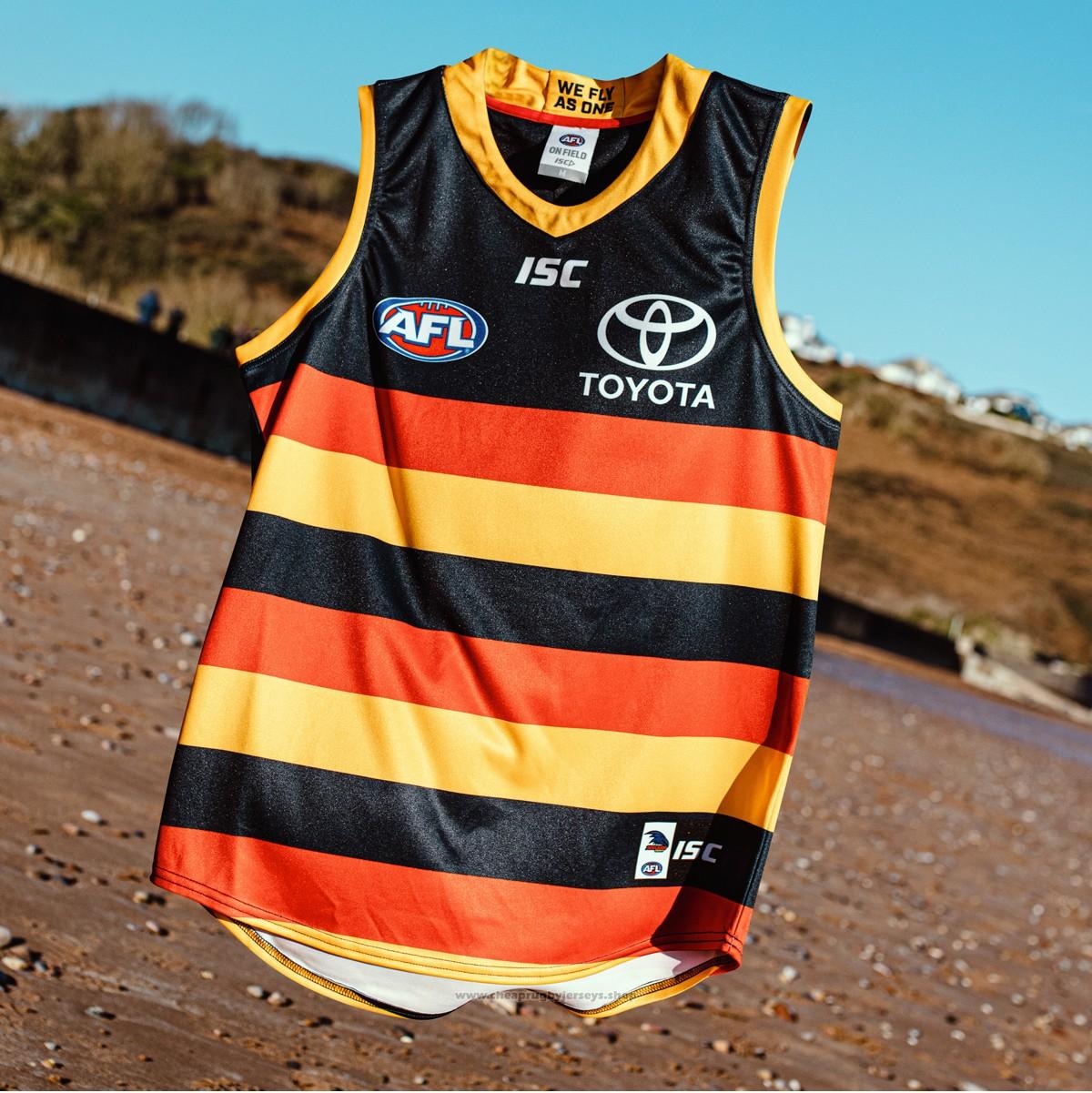 Adelaide Crows AFL Guernsey 2019 Black