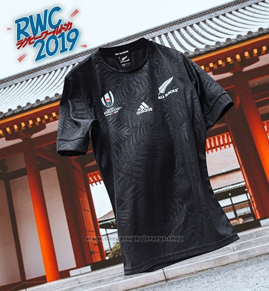 New Zealand All Black Rugby Jersey RWC2019 Home