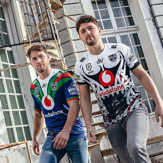 New Zealand Warriors Rugby Jersey 2019-2020 Home